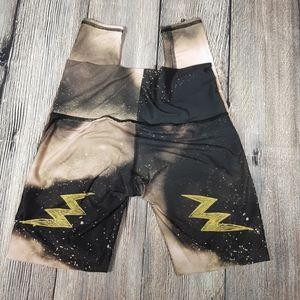 Teeki small Electric Night hot pant leggings